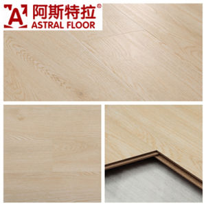8mm Embossed Surface / (U-Groove) Laminate Flooring pictures & photos