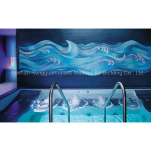 Swimming Pool Decoration of Artistic Mosaic Glass Tile pictures & photos