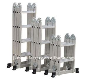 Expert of Aluminium Multi-Purpose Ladder Jk-103 pictures & photos