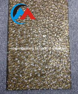 Glitter Gold Acrylic Sheet 100% Raw Material/PMMA