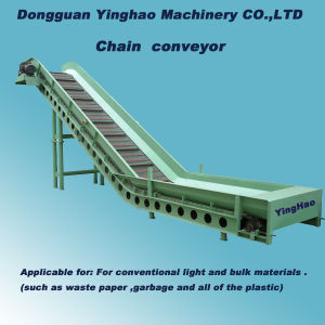 Waste Paper / Plastic Chain Conveyor