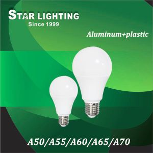 270 Degree Beam Angle Aluminum Plastic 5W 7W 10W 12W 15W LED Bulb pictures & photos