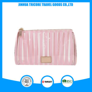 Hot Sale Make-up Water Drop Shape PVC Cosmetic Bag pictures & photos
