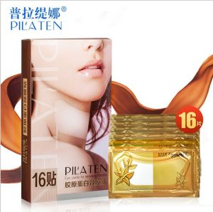 Skin Care Product Pilaten Collagen Whitening Neck Mask pictures & photos