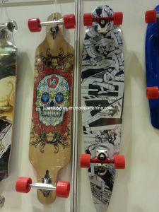 Long Skateboard Et-Lb008 2014 Skates Long Complete Longboard Skateboards Professional Leading Manufacturer pictures & photos