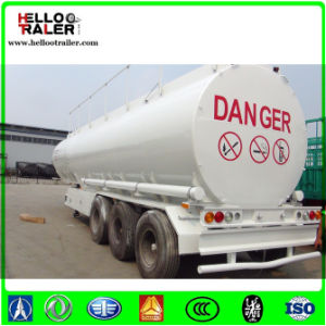 Helloo Trailer 3 Axle 42000L Carbon Steel Tank Trailer pictures & photos