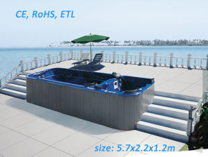 Outdoor SPA Swim SPA Tub with CE pictures & photos
