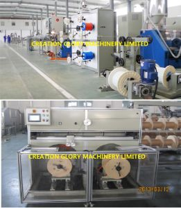 High Quality Fully Automatic Optical Drop Cable Extrusion Machine pictures & photos