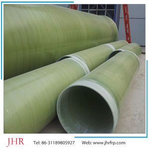 Good Anti Corrosion FRP GRP Sewage Water Pipe pictures & photos
