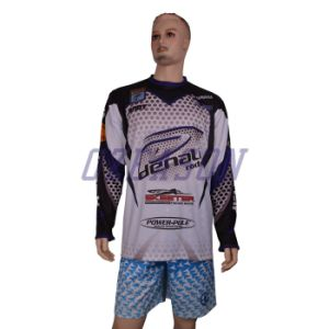 Wholesale Customized Color Printing Fishing Jersey (F006) pictures & photos