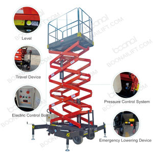Semi-Electric Self Propelled Scissor Lift (Platform Height 16m) pictures & photos