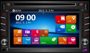 Wholesale Universal 2 DIN 6.2 Inch Touch Screen Car GPS Navigation with Am/Bluetooth/USB pictures & photos