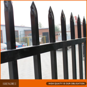 Spear Top Safety 2.1X2.4m Wrought Steel Fence pictures & photos