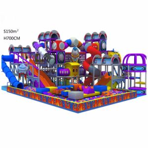 Custom Size Kids Soft Indoor Playground Equipment, Kids Indoor Playground for Sale pictures & photos