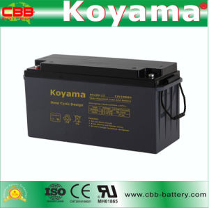 DC150-12 12V 150ah Deep Cycle Hybrid Battery for Golf Cart pictures & photos