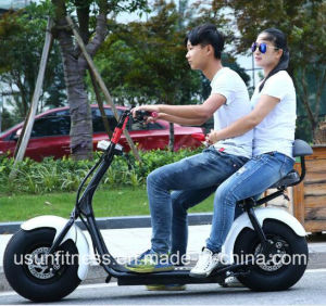 Hot Sale Citycoco Fat Tire Electric Motorcycle with Aluminium Wheel pictures & photos