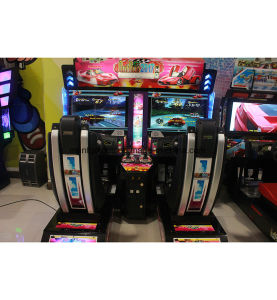 HD Luxury Outrun Two Player Arcade Game Machine Video Race Car pictures & photos