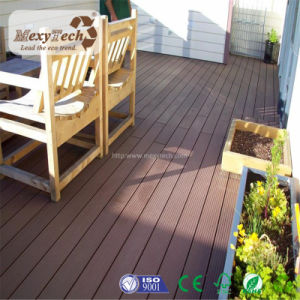 Modern Recyclable Blue Hollow Composite Decking Board pictures & photos