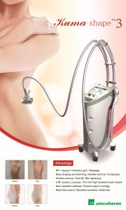Beijing Sincoheren Vacuum Kuma Shape Body Shaping Machine/Velashape Machine/Body Cotouring Machine pictures & photos