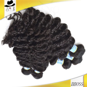 10A Brazilian Deep Wave Human Hair, Hair Extension pictures & photos