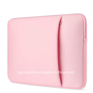 Colourful Waterproof Neoprene Laptop Sleeve Bag with Handle pictures & photos