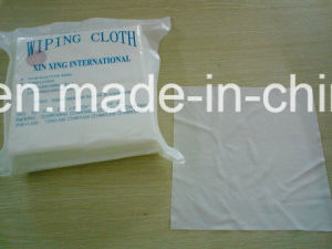 Cleanroom 100% Polyester Dust Lint Free Wipers Industrial Cleaning Wipes pictures & photos