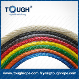 Aftermarket Auto Parts Multicolor Electric Winch Rope 12mm Synthetic Rope pictures & photos