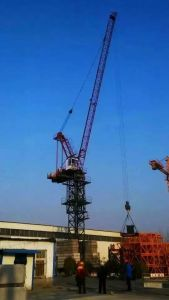 ISO Qualified Jib Length 55m, Tip Load 1.6ton, Max Load 6ton Tower Crane for Construction Building
