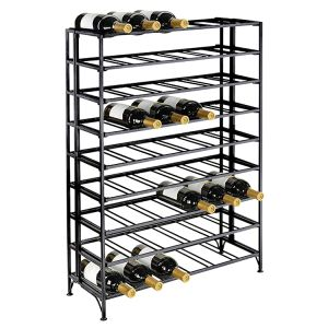 Modern Home Bar Storage Metal Red Wine Display Cabinet pictures & photos