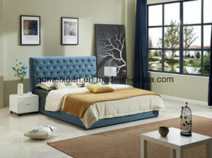 Nordic Cloth Art Software Bed Customizable Environmental Bedroom Bed (M-X3792) pictures & photos