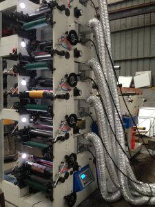 Label Flexo Printing Machine with Die Cutting and Slitting pictures & photos