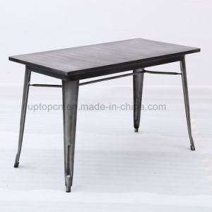 Wholesale Vintage Design Metal Furniture Cafe Industrial Table and Chair (SP-CT676) pictures & photos
