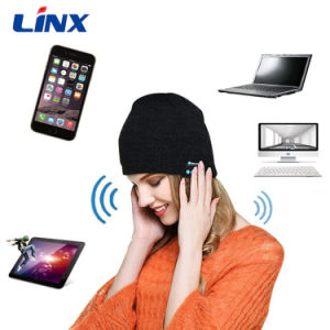 Newest Hot Sale High Quality Wireless Music Bluetooth Hat Headphone pictures & photos