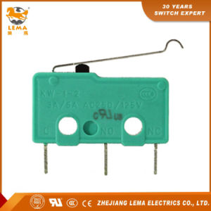 Lema Kw12-5s Bent Lever Solder Terminal Mini Micro Switch pictures & photos