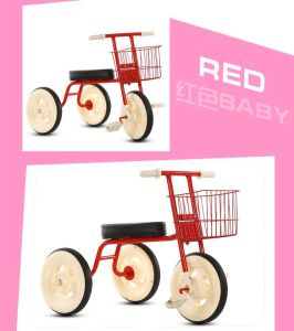 Front Pedal Plastic Kids Bike Mini Tricycle pictures & photos