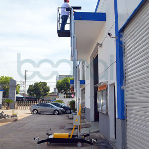 Single Mast Aerial Work Platform Max Height of Platform (10m) pictures & photos