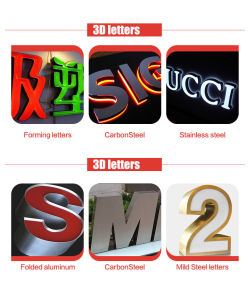 Resin Letters Bending Machine for Aluminum Coils with Ab Glues pictures & photos