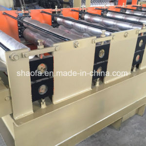 Metal Step Roofing Tile Panel Profile Making Machine pictures & photos