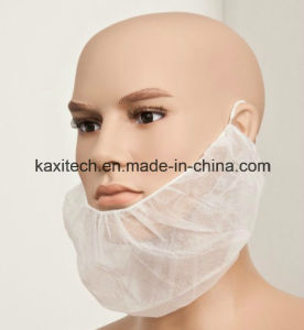 Disposable Nonwoven Beard Mask with Double Elastics Kxt-Nbc01 pictures & photos