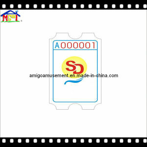 Amusement Redemption Game Machine Accessory Ticket for Sale pictures & photos