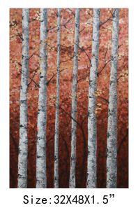 Tree Trunk Oil Painting for Home Decor (LH-259000) pictures & photos