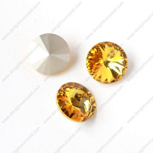 Dz-3019 Delicate Cuts Rivoli Crystal Fancy Stone in Bulk pictures & photos