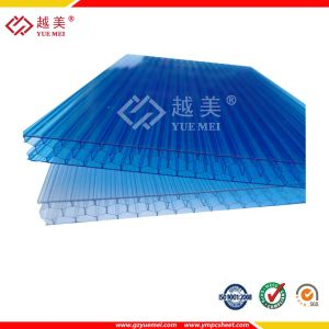 Colored Hollow Polycarbonate Roofing Sheet pictures & photos
