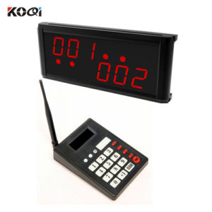 Wireless Call Pager System for Restaurant with K-999+K-236 pictures & photos