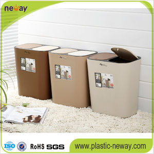 Hot Sale New Design Plastic Waste Bin pictures & photos