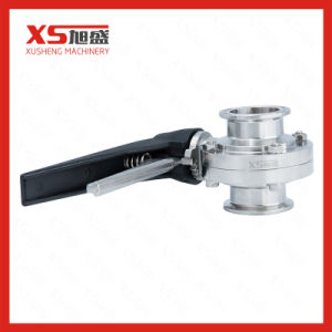 Stainless Steel Sanitary SMS Clamp-Clamp Butterfly Valves pictures & photos