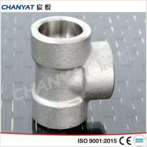 DIN Corrosion Resistant Threaded Tee (1.4550, X6CrNiNb1810) pictures & photos