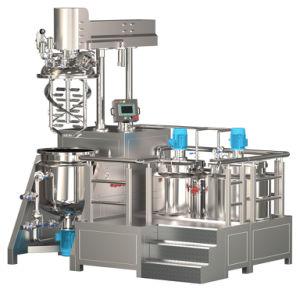 Guangzhou Fuluke Vacuum Emulsifying Machine Homogenizer for Cosmetics Cream Price pictures & photos