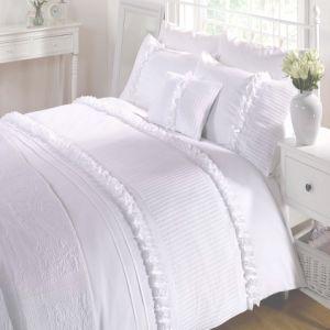 Hotel Use Warm Super Soft White Hollow Fiber Quilt (JRD544)