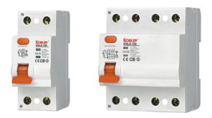 RCCB Knl5-100 Residual Current Circuit Breaker with Ce, CB